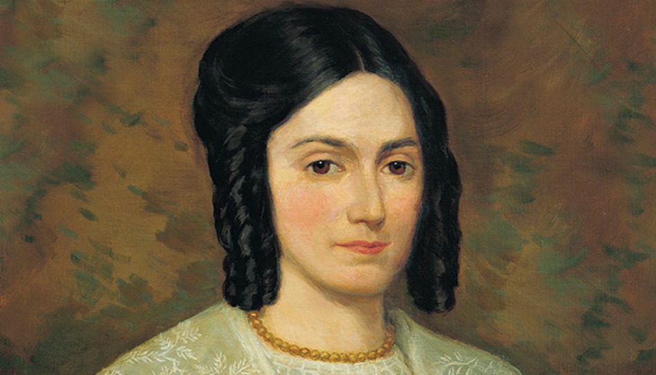 ジョセフ・スミスの妻、エマ・ヘイルの肖像画