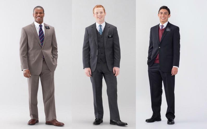 末日聖徒イエス・キリスト教会の宣教師:いつも濃い色のスーツを伝道中に着ているわけではない?