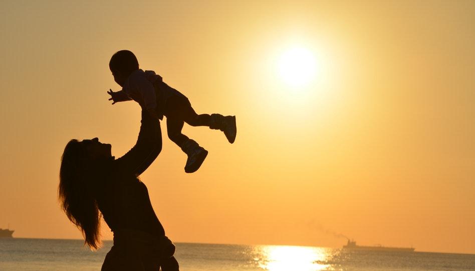 ユタ州は未婚の母の比率が一番低い