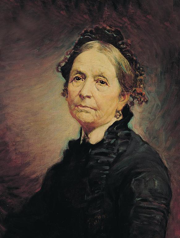 エライザ・R・スノーの肖像画