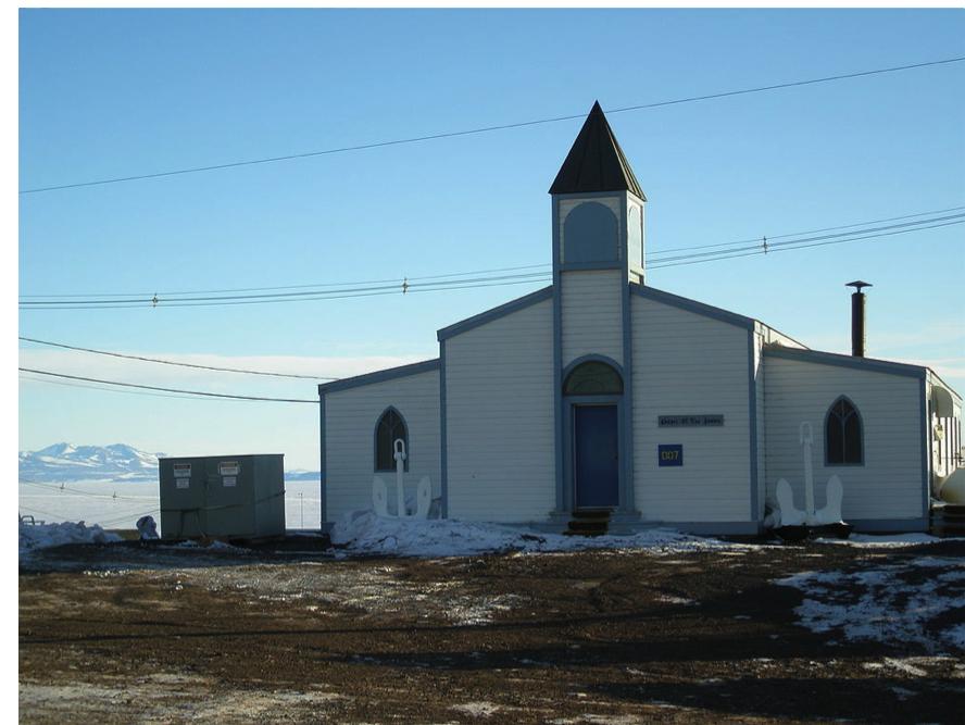 末日聖徒イエス・キリスト教会…南極大陸に?