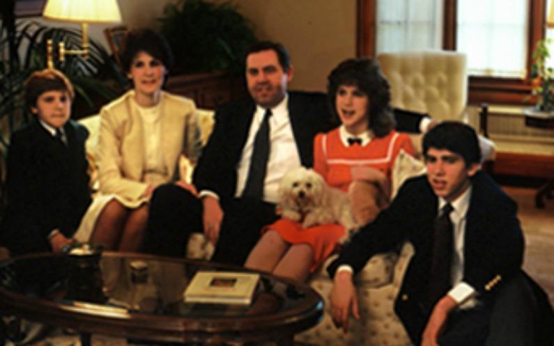 ジェフリー・R・ホランド夫妻と子供たち