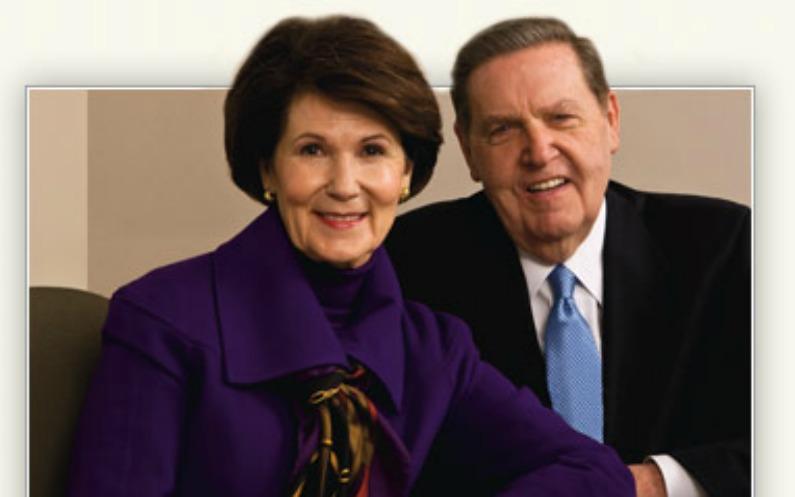 ジェフリー・R・ホランド長老と妻のパトリシア