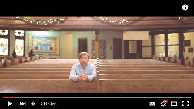 ピーター・ホレンのクリスマス・ミュージックビデオ