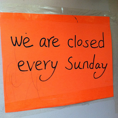 Sunday Holiday