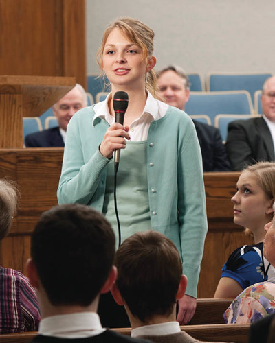 Talk at Mormon Church