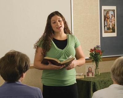 Teach at church on Sunday