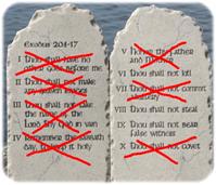 The Ten Commandments of Moses