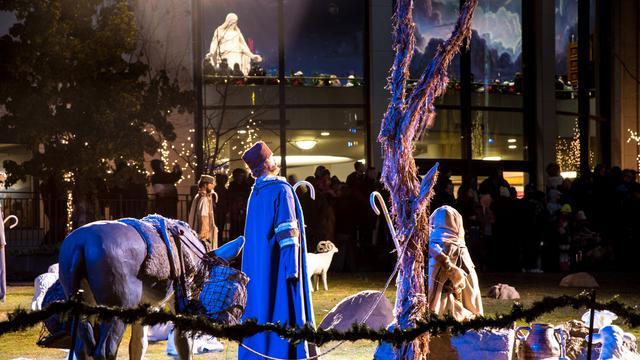 テンプルスクエア、キリストの誕生