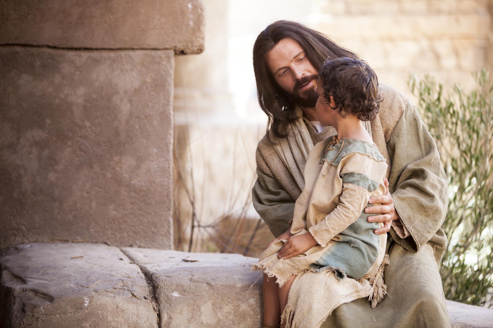 イエスと幼い子供