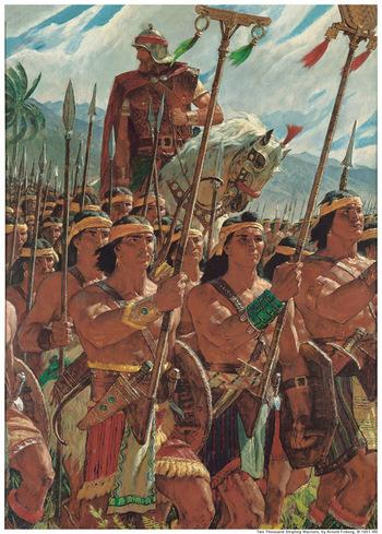 モルモン教における戦争