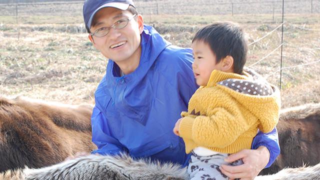 モルモン教の会員:松原正典さんと息子