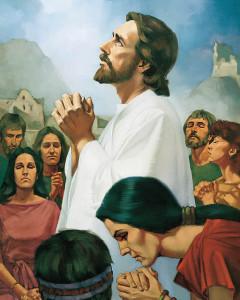 人々を癒したイエス・キリスト