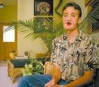銃で顔を撃ってしまったモルモン教の男性ブライアン