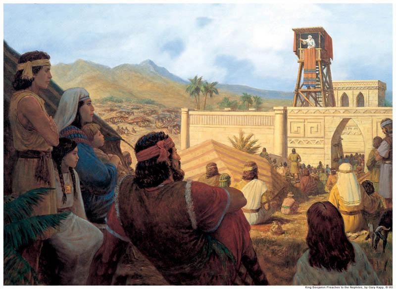 モルモン書より、キリストを待ち望む人々