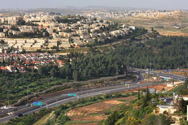 現在のエルサレム