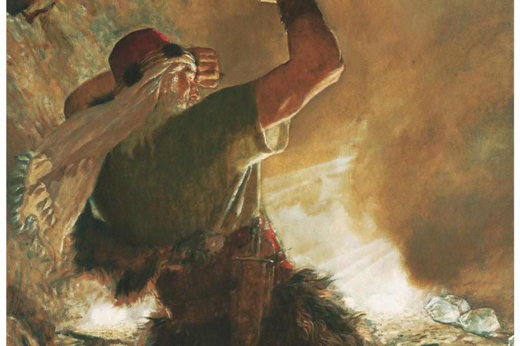 モルモン書のヤレドの兄弟、ノアの箱船に習う