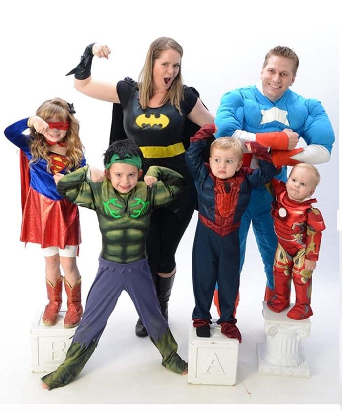 元気になった脳腫瘍の子と家族