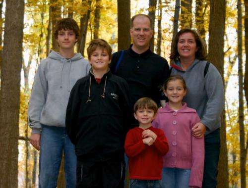 赦しの奇跡を経験したウィリアムス家族