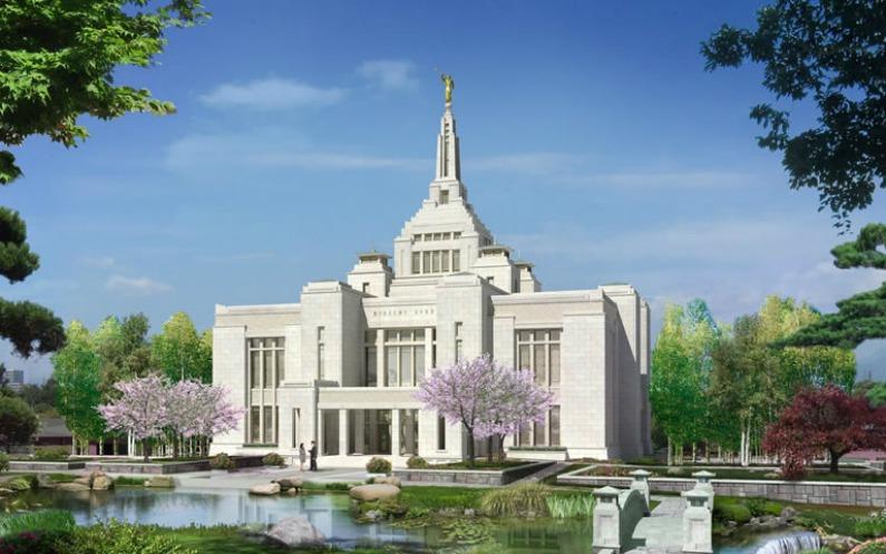 札幌神殿は日本の祝福