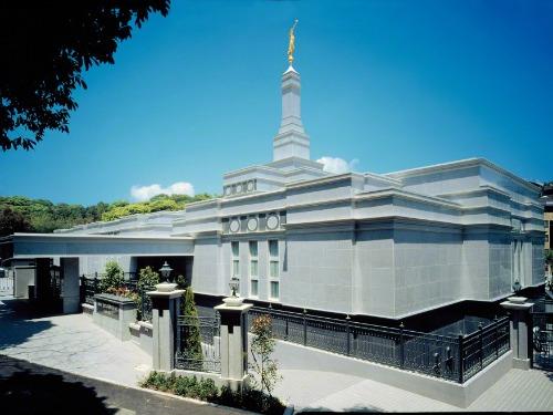 家族に祝福をもたらす神殿