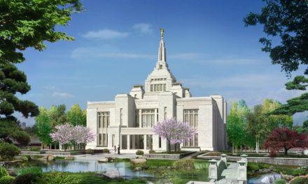 新しく建てられた日本札幌神殿