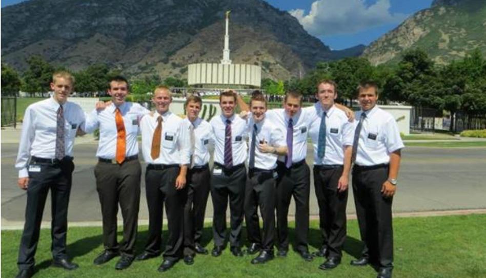 宣教師とプロボ神殿