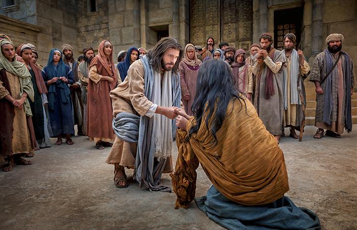 姦淫の罪を犯した女性を赦すイエス・キリスト