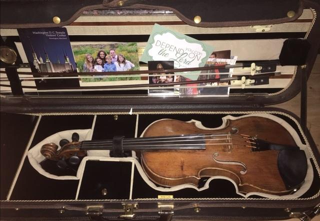ビンセンゾ・パノーモ1795年製のバイオリン