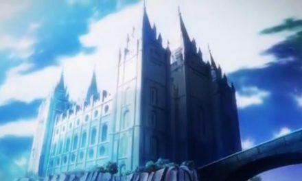 アニメ『異世界食堂』第5話にモルモン教の神殿が登場!