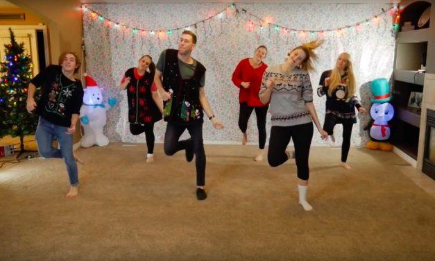 家族でクリスマスダンス:末日聖徒イエス・キリスト教会の会員が動画で大ヒット!