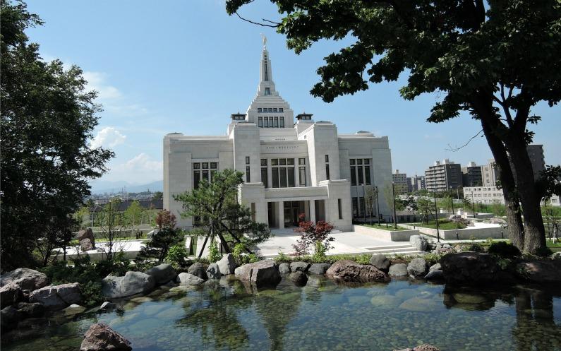 札幌神殿と庭園