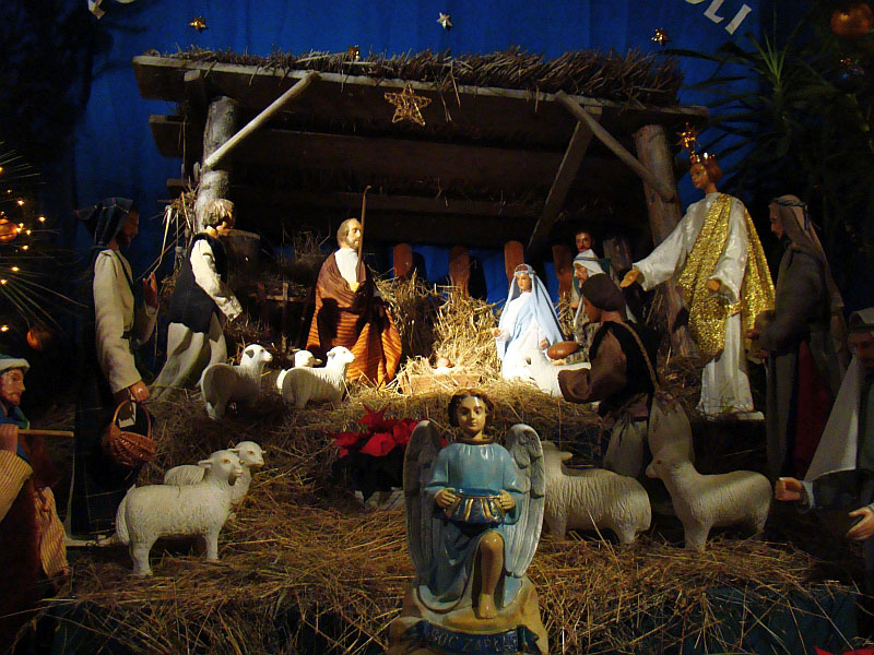 イエスキリストの降誕シーン