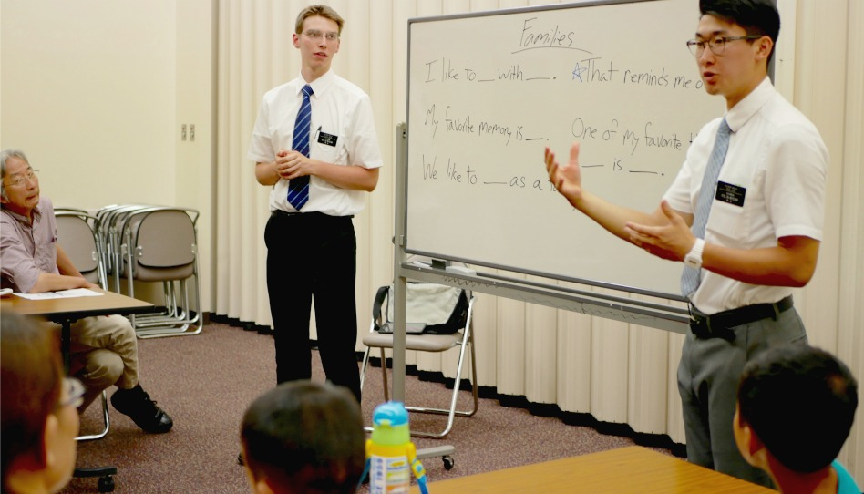 GOEIGO英会話を教える宣教師