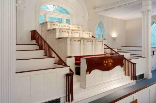 カートランド神殿1階の礼拝用の部屋