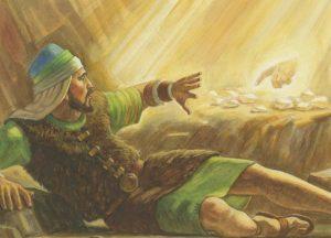 主の指を見て驚くヤレドの兄弟