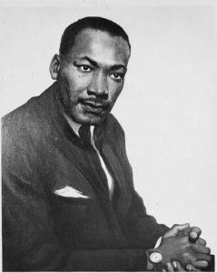 マーティン・ルーサー・キング牧師のポートレイト
