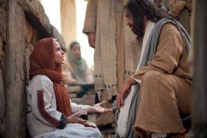 主への信仰によって癒された女性
