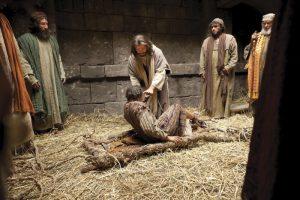病気の人を治すキリスト